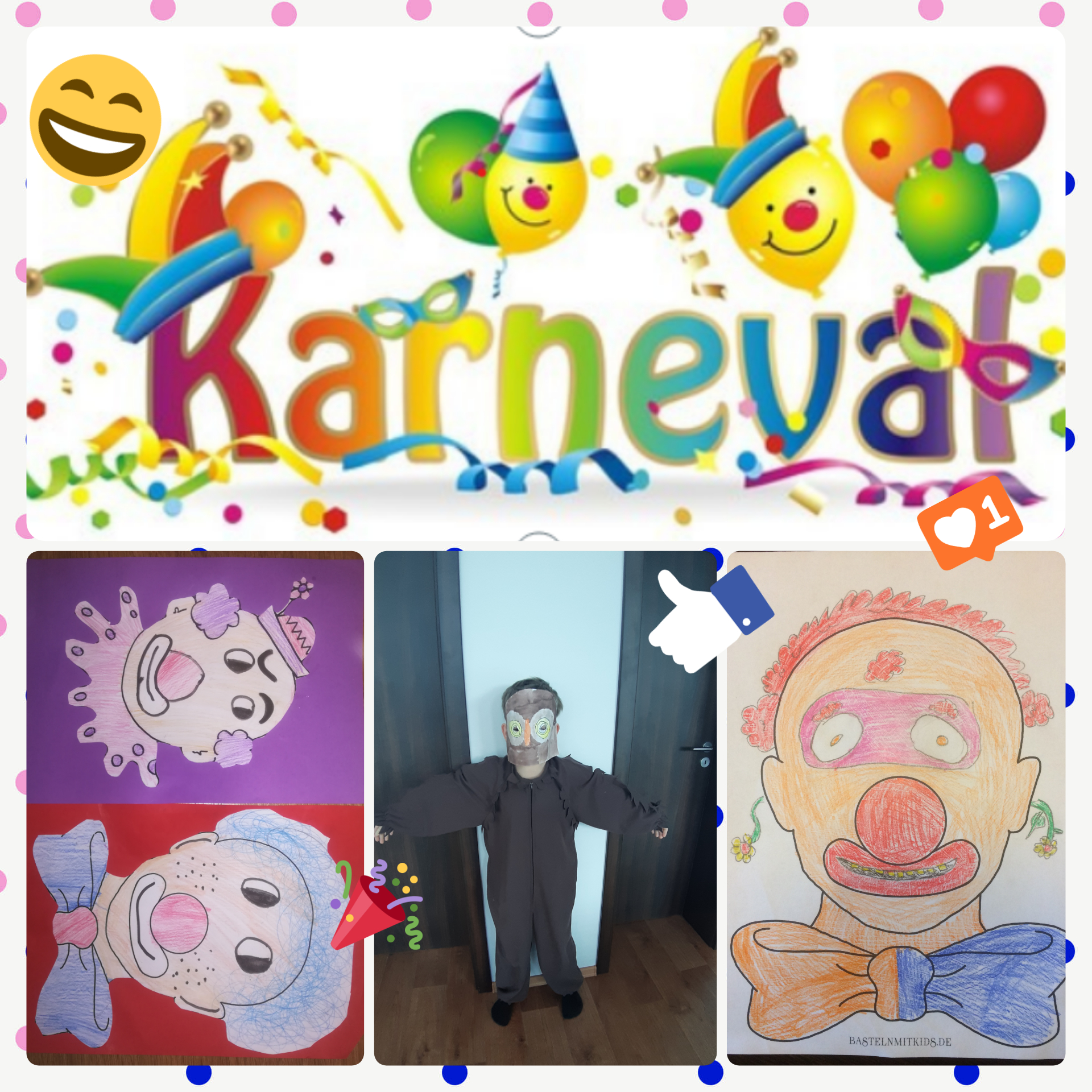 Online karneval ve 3. třídě