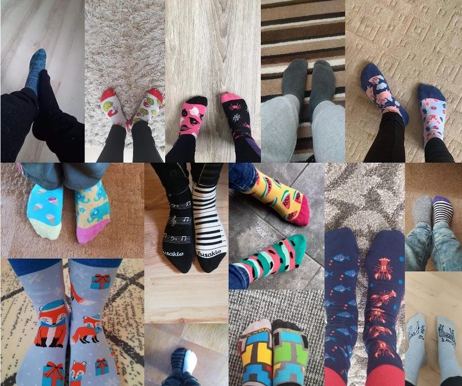 Světový den Downova syndromu (ponožkový den)