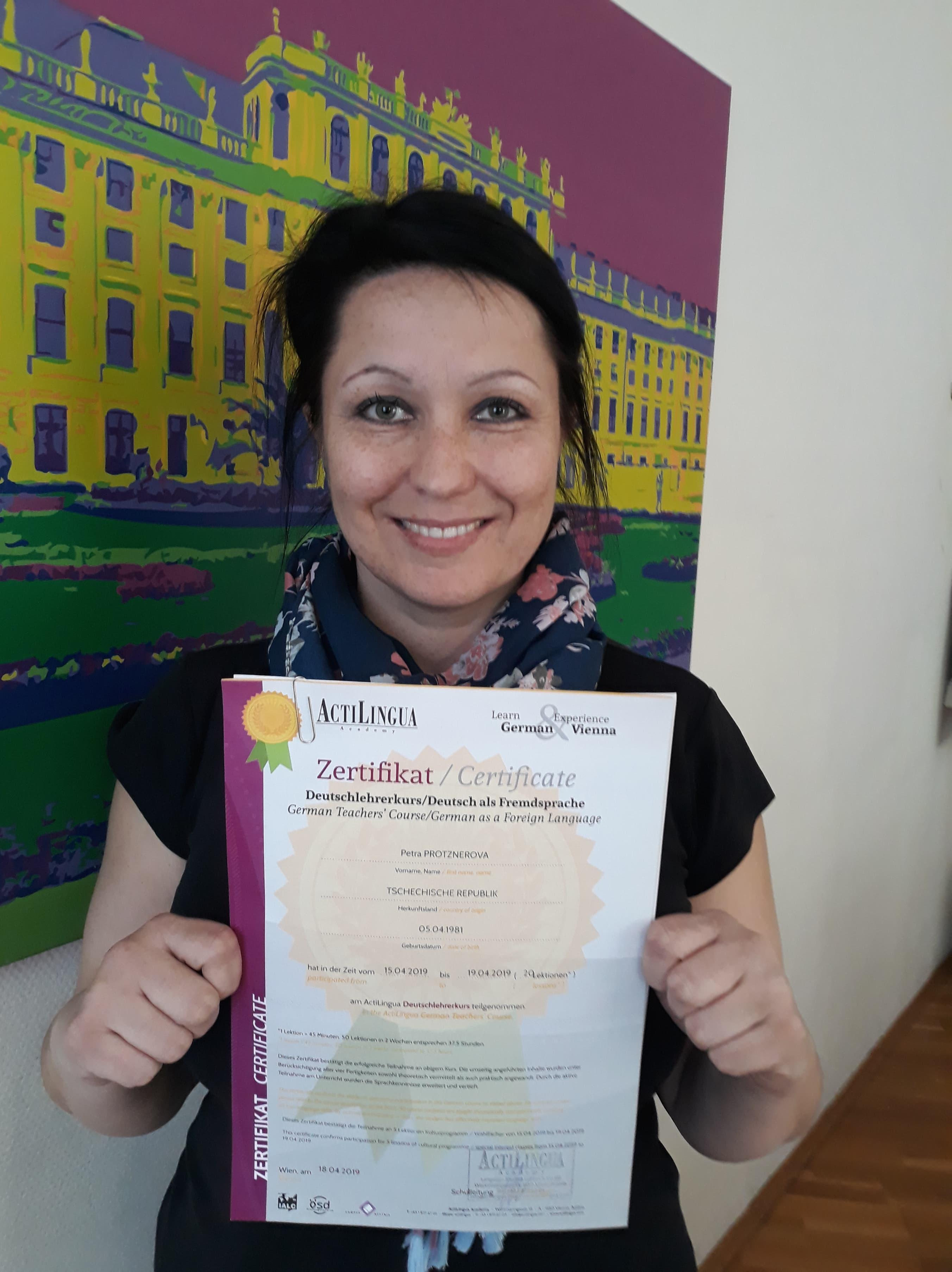 Erasmus+ KA1 - metodický kurz německého jazyka ve Vídni