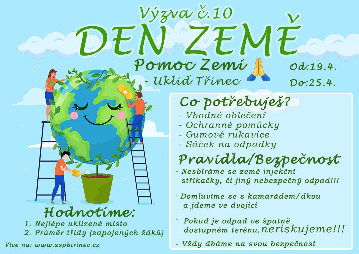 Výzva č. 10: Den Země